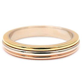 Cartier 18K Three Color Ring Size 4.5