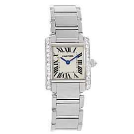Cartier Tank Francaise WE1002S3 25mm Womens Watch
