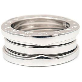 BVLGARI 18K WG B-zero1 Ring Size 5.5