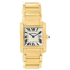 Cartier Tank Francaise W50014N2 30mm Womens Watch