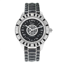 New Unisex Christian Dior Christal CD115511M001 Diamond 42MM Automatic Watch