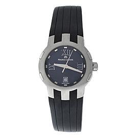 New Lady Maurice Lacroix Milestone MS1013-SS001-310 Steel $1400 Quartz Watch