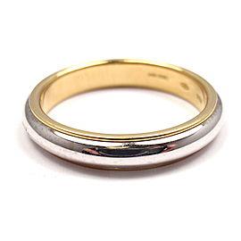 POMELLATO 18K Yellow/White Gold Size 10 Wedding Band $1,245