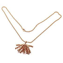 Cartier Paris Nouvelle Vague 18k Rose Gold Diamond Pendant Necklace
