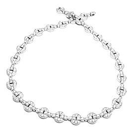 Cartier Orissa 18k White Gold Diamond Necklace
