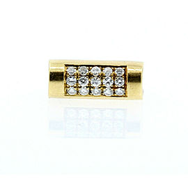 18K YELLOW GOLD UNIQUE LADIES .75ct DIAMONDS RING SIZE 4.25