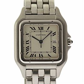 Cartier Panthere W25032P5 22mm White Roman Stainless Steel