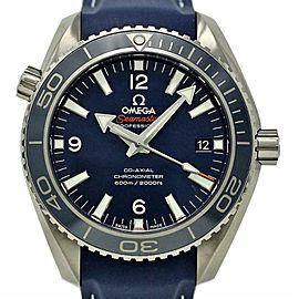 Omega New Seamaster 232.92.42.21.03.001 Planet Ocean Blue