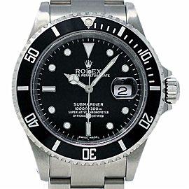Rolex Submariner 16610 40mm Stainless Steel Black 2005