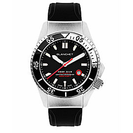 Mens Blanchet Deep Dive DD1000.AC.01 Steel Automatic 44MM Watch