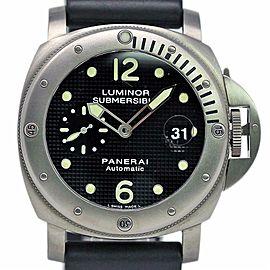 Panerai Luminor Submersible PAM00025 44mm Titanium Automatic
