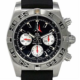 Breitling Chronomat 44 AB01104D/BC62 Black Rubber Steel