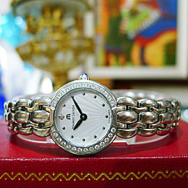 Maurice Lacroix Selena Diamond Stainless Steel Sunburst Dial Ladies Watch