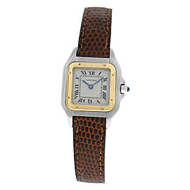 Ladies Cartier Panthere 1120 Steel 18K Yellow Gold 22MM Quartz Watch