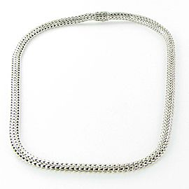 """John Hardy Classic Chain Necklace 6.26mm Sterling Silver 20"""""""