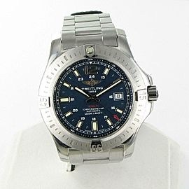 Breitling Colt Automatic Mariner Blue Dial Steel Mens Watch A1738811/C906/173A