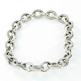 "David Yurman XL Oval Link Chain Necklace 17"" Sterling Silver"