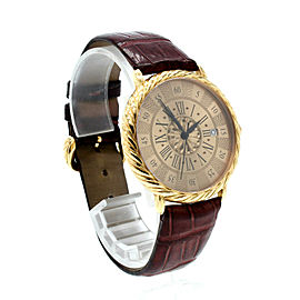 BUCCELATI 18K Yellow Gold Audachron Automatic 38mm Wristwatch Ref: 5111