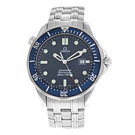 Men's Omega Seamaster 2541.80 Stainless Steel Date Quartz 41MM Watch