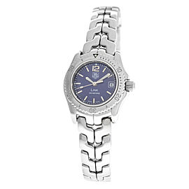 Ladies Tag Heuer Link WT1415 Steel Date Quartz 27MM Watch