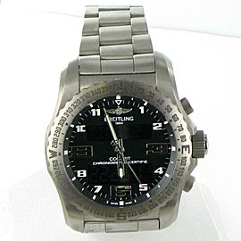 Breitling Professional Cockpit B50 Watch 46mm Titanium Black Dial EB501022/BD40