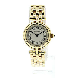 Cartier Cougar Panthere 18k Yellow Gold Ladies 24mm Quartz Watch