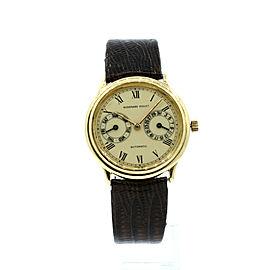Audemars Piguet 18k Yellow Gold Day Date Automatic 33mm Men's Watch