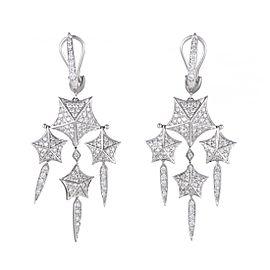 Stephen Webster Stargazer 18K White Gold with 1.71ct Diamond Chandelier Earrings