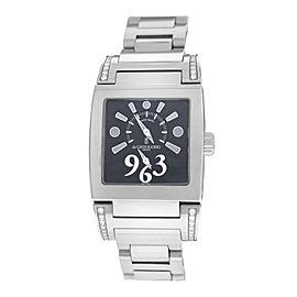 Ladies De Grisogono Tino Acier N01.002/B Steel Quartz 29MM Watch