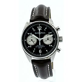 Bell & Ross 'Vintage 126' Pilots Antimagnetic 40mm Chronograph Men's Watch