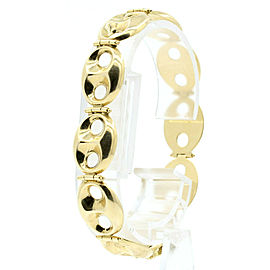 Fine Estate 14k Yellow gold Large Link Bracelet