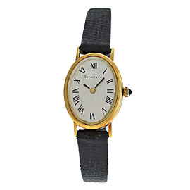 Ladies Tiffany & Co. Classic 14K Yellow Gold 27MM Mechanical Watch