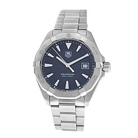 Men's Tag Heuer Aquaracer WAY1110 Steel Date 41MM Quartz Watch