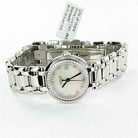 New Longines PrimaLuna L81100876 Diamond Bezel MOP Dial 26.5mm Ladies Watch