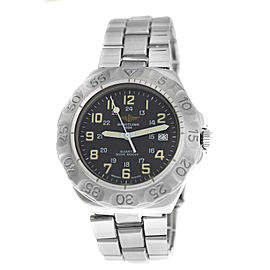 Mens Unisex 38MM Breitling Colt M50036 Stainless Steel Quartz Date Watch