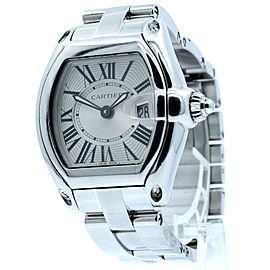 Cartier Roadster Silver Dial Stainless Steel Women's Watch Ref: 2675