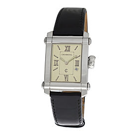 Ladies' Charriol Columbus Colvmbvs 9011910 Steel Quartz Date 25MM Watch