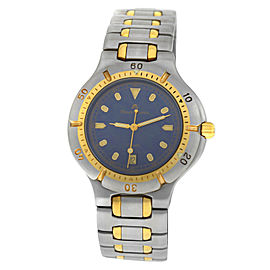 Ladies' Maurice Lacroix 92266 Gold Electroplated Steel Quartz 39MM Date Watch