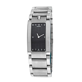Men's Movado Elliptica 84 C1 1481 Stainless Steel Quartz 24MM Watch