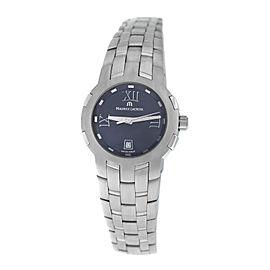 Ladies' Maurice Lacroix Milestone MS1013-SS002-310 Steel $1550 Quartz 29MM Watch