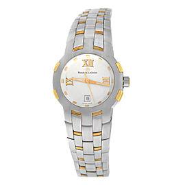 Ladies' Maurice Lacroix Milestone MS1013-PS103-110 Steel $2200 Quartz 29MM Watch