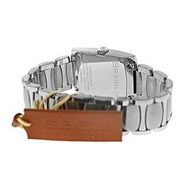 New Men's Ebel Brasilia 9255M41 Stainless Steel 32MM Quartz $3,000 Watch