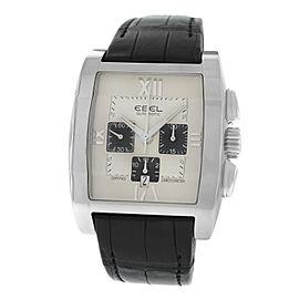 New Men's Ebel Tarawa 9137J40-643 Chronograph Chronometer Automatic 41MM Watch