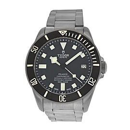 Men's Tudor Pelagos 25600TN Titanium Chronometer Date Automatic 42MM Watch