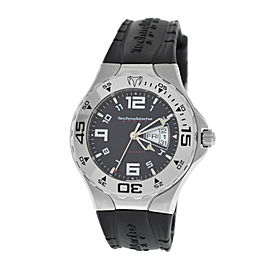 Men's TechnoMarine Sport TM Day Date Stainless Steel Quartz 40MM Watch
