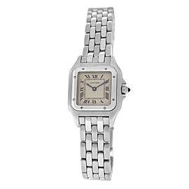 Mint Ladies' Cartier Panthere 132000C Stainless Steel 22MM Quartz Watch