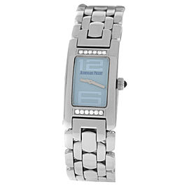 Ladies Audemars Piguet Promesse 67259ST.2.1156ST.03 Steel Diamond Quartz Watch