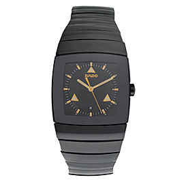 New Unisex Rado Sintra R13724172 Ceramic 32MM Date Quartz $2,600 Watch