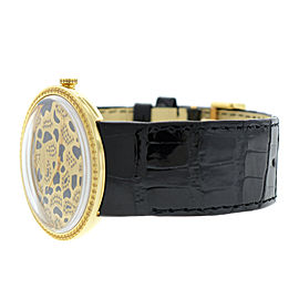 Ladies Christian Dior La D de Dior Leopard CD043154 18K Gold Diamond 38MM Watch