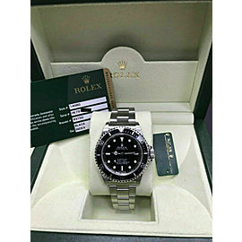 Rolex Submariner 14060 Black Dial Stainless Steel Box Papers Very Rare 2012